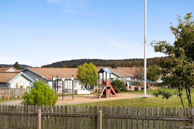 Området - Tölö förskola ligger på promenadavstånd i från bostaden.
