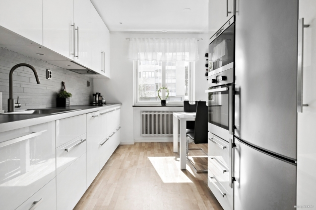 Mer av det smakfullt renoverade köket