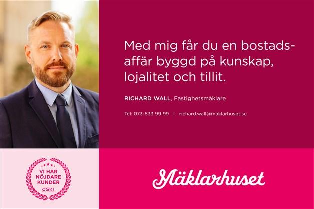 Richard Wall, ansvarig mäklare