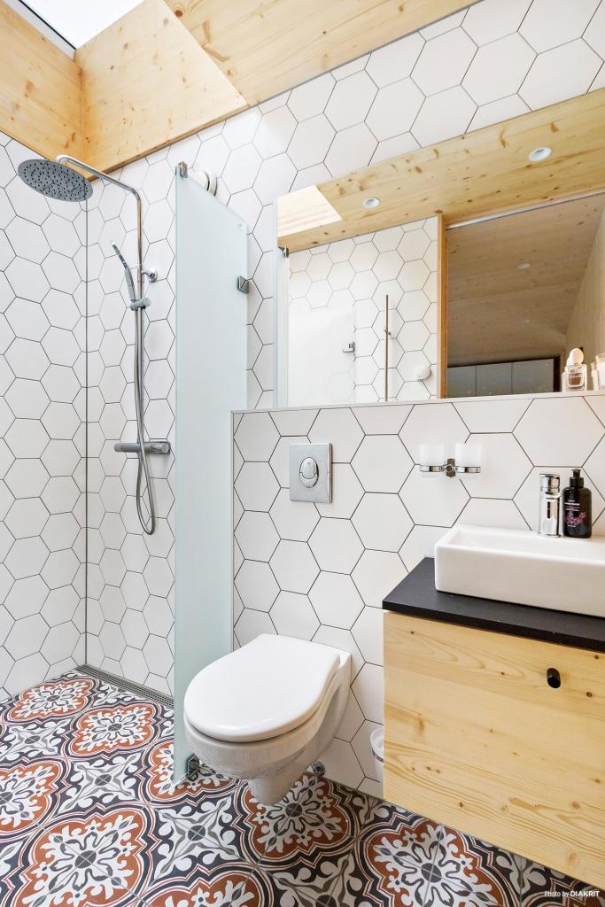 WC/Dusch i anslutning till master bedroom