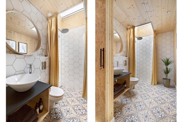 WC/Dusch övre plan