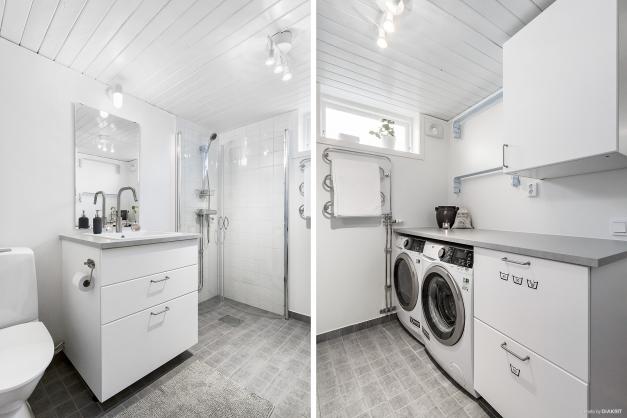 WC/Dusch/Tvätt nedre plan