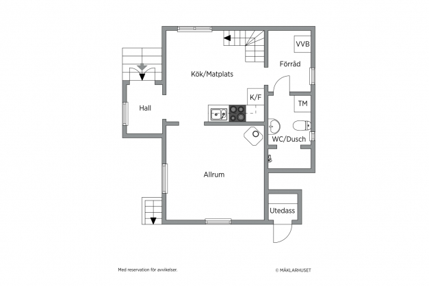 Fiskarhuset - plan 1