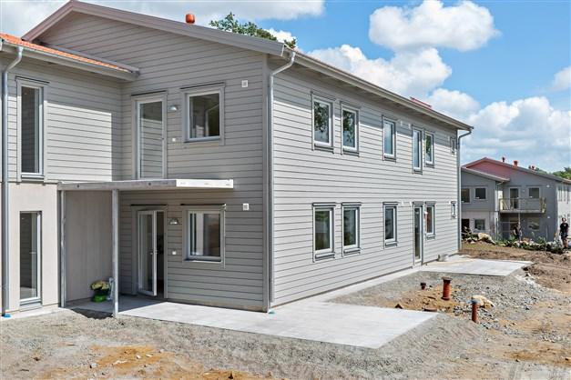 OBS! Bilderna är från Brf Klädesvägen i samma område och ett liknande hus. Avvikelser kommer förekomma gentemot de nyproducerade lägenheterna i Brf Västra Klädesvägen.