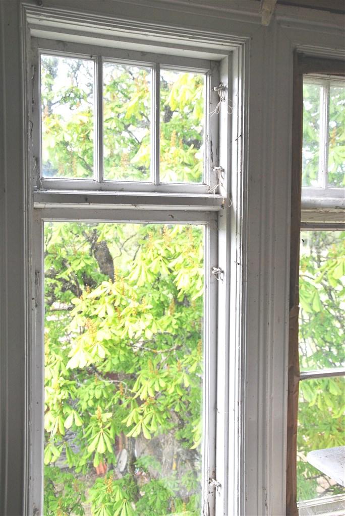 Detaljbild fönster
