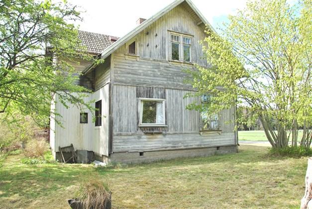 Huset mot öster/sydost