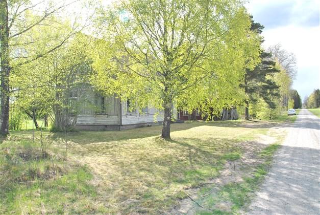 Huset mot nordost/områdesbild