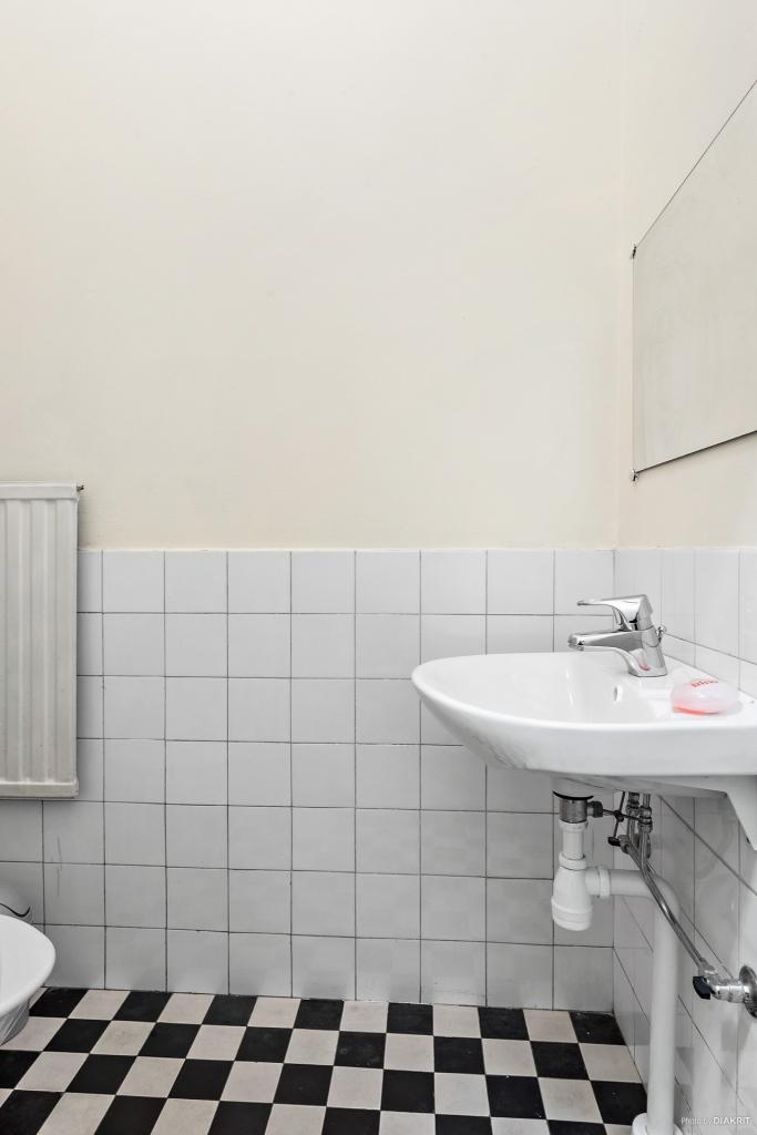 WC och handfat