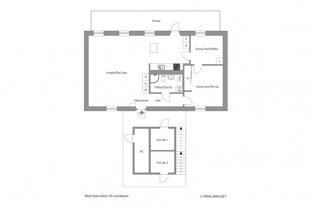 4 rum och kök