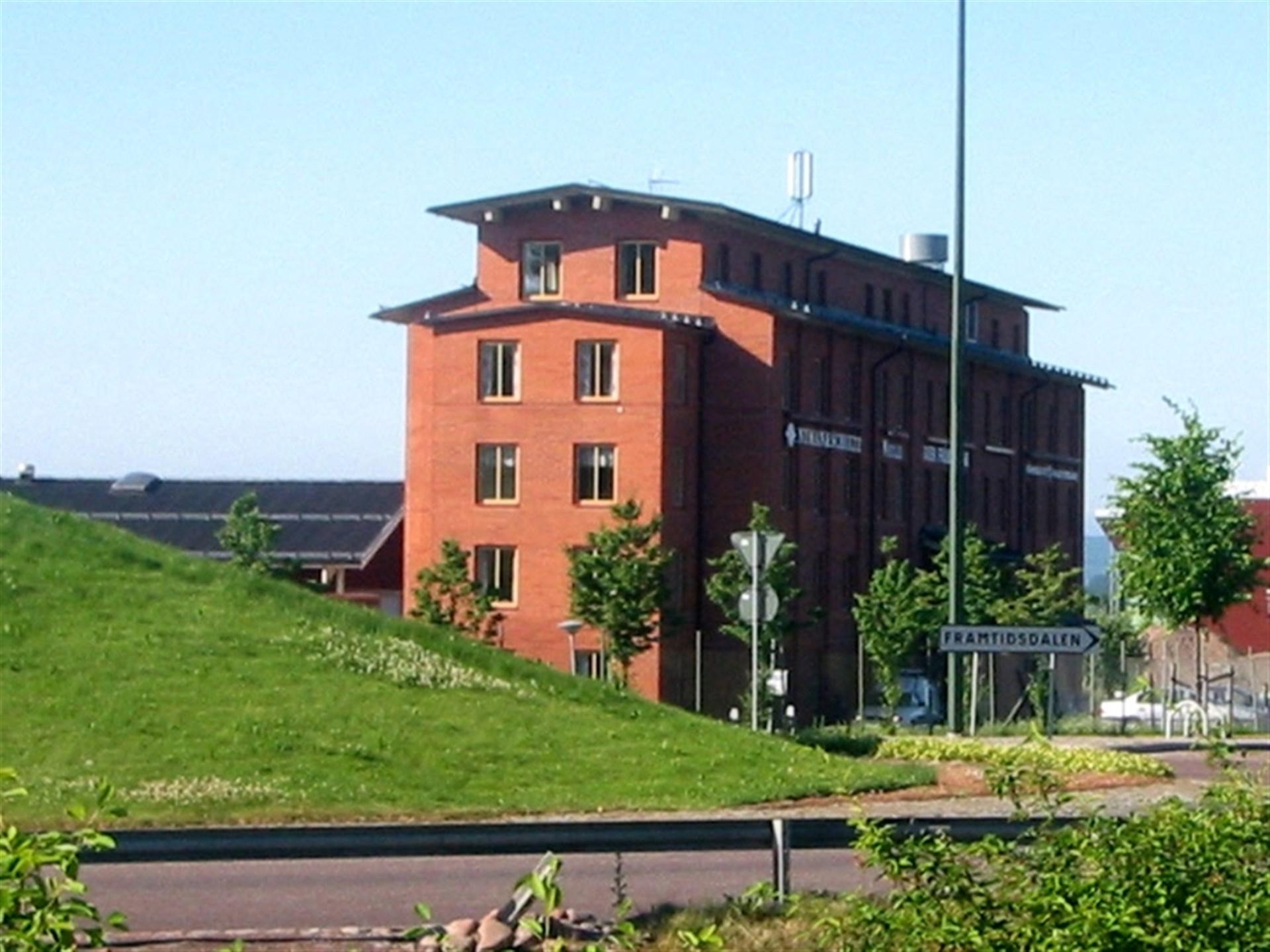 Kontorshus mot nordväst