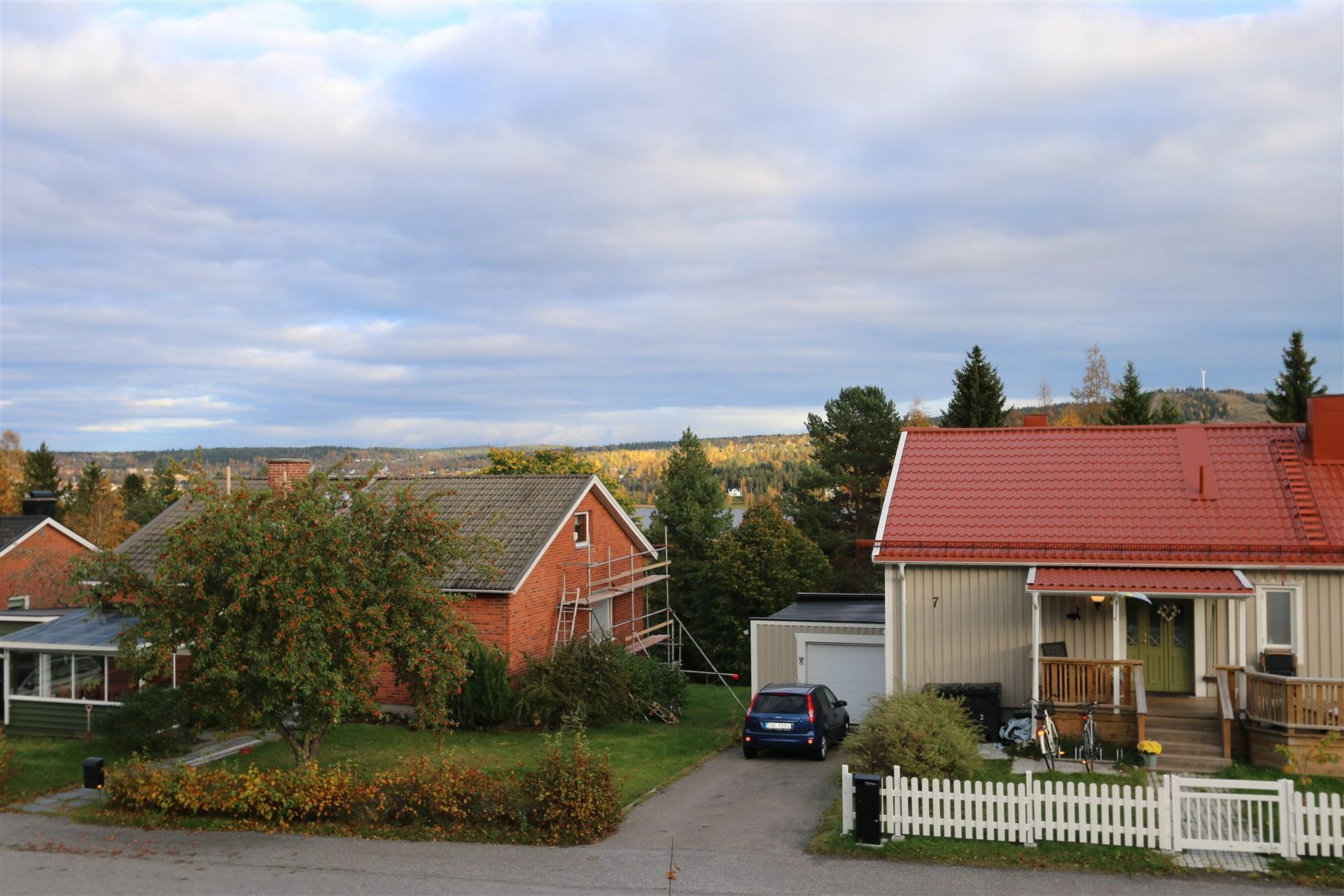 Fin utsikt mot Södra Sundet från diskbänken