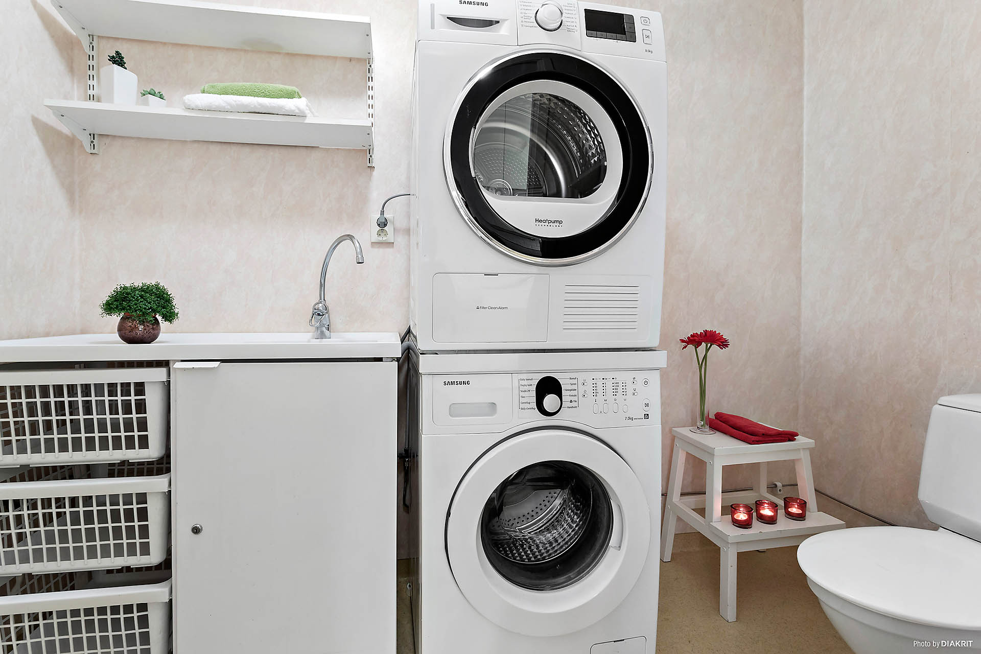 Tvättstuga / WC bottenplan