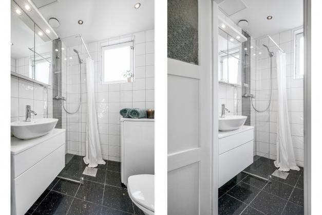Helkaklat badrum från 2010.