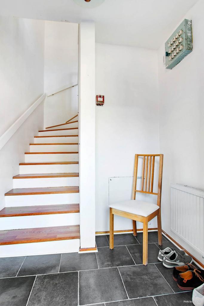 Entréhall i etage