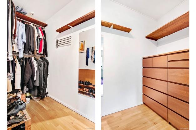 Walk in closeth
