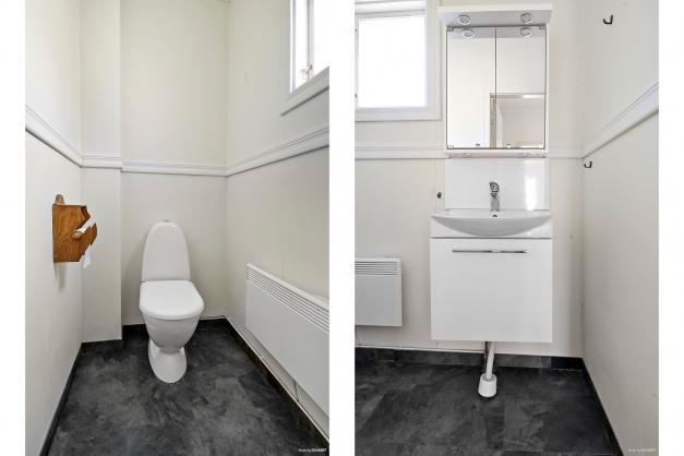 Toalett och wc