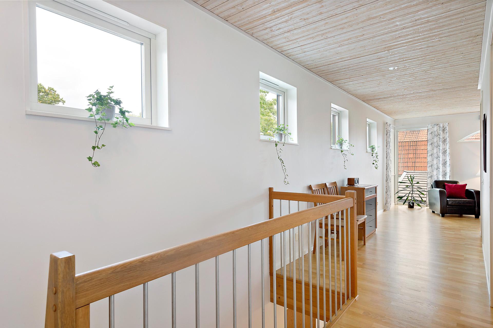 Hall på övervåningen