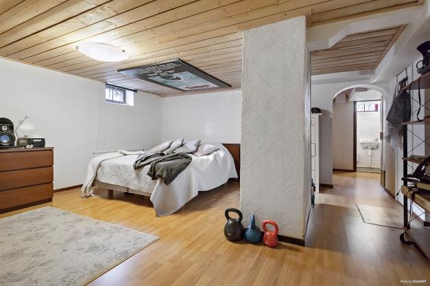 Sovrum lgh nr 1 (källarplan)