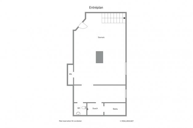 Lägenhet nr 1 (del av lägenhet belägen i källarplan)