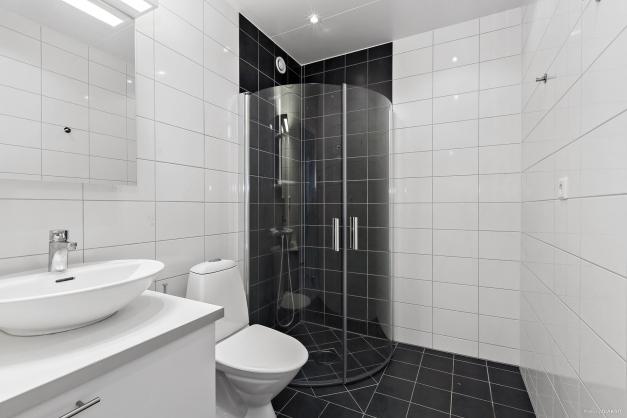 Övre plan - duschrum