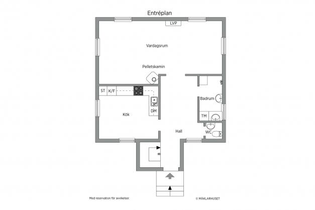 Plansskiss - Entréplan