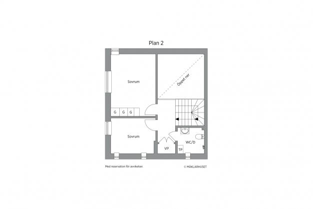 Planskiss plan 2 - 2D