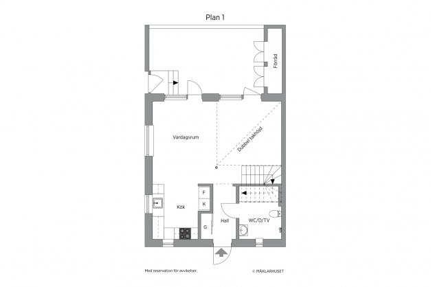 Planskiss entréplan - 2D