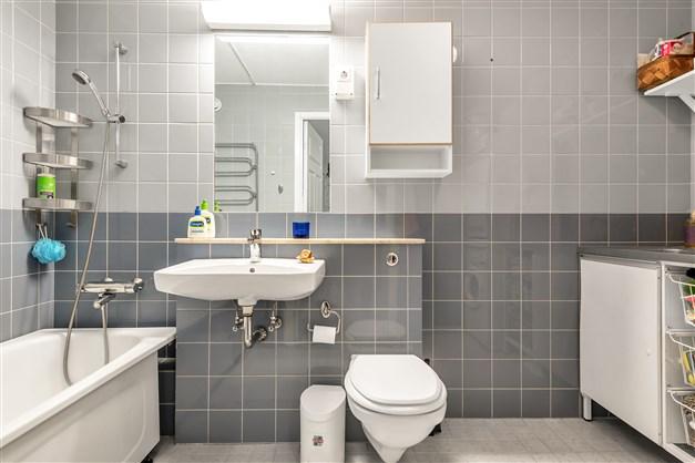 Rymligt badrum