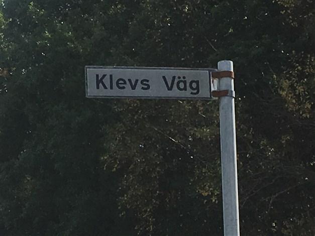 Välkomna till Klevs väg