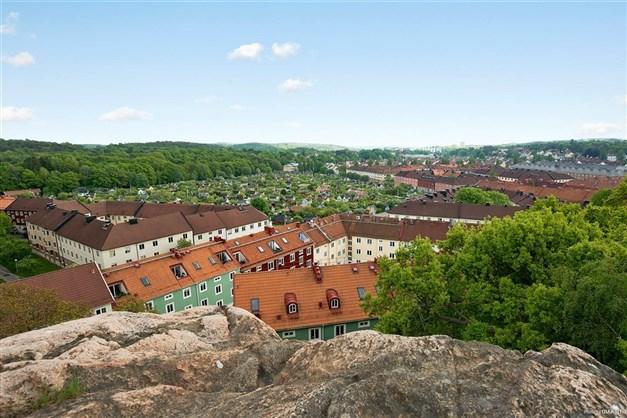 En av många härliga utsiktsplatser uppe på Gråberget