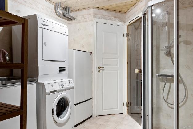 Tvättstuga/dusch/bastu