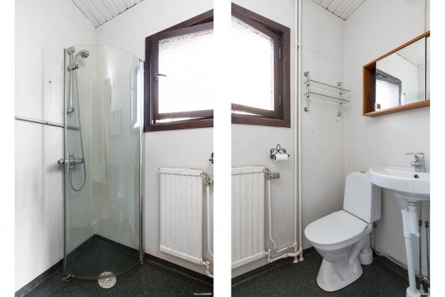 Lägenhet 1 - Toalett/dusch