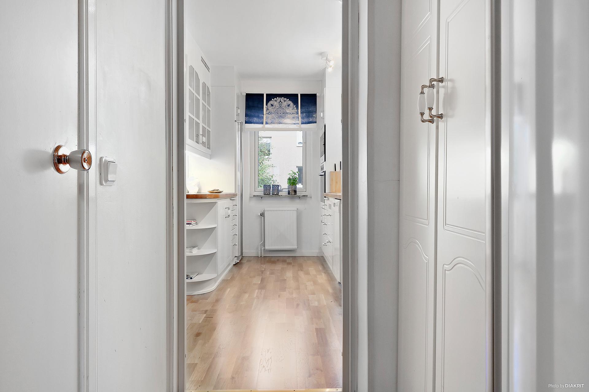 Inre hall mellan kök