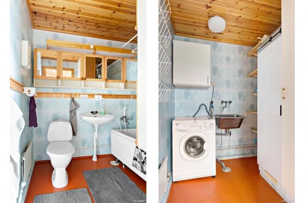 Badrum/tvättstuga.