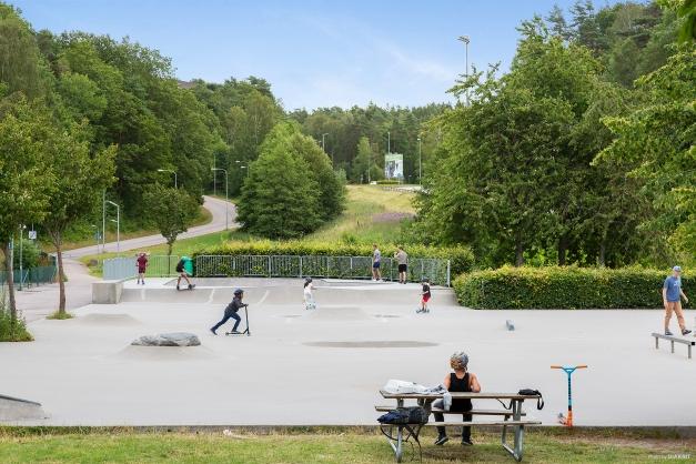 Skateboardpark i Björndammen