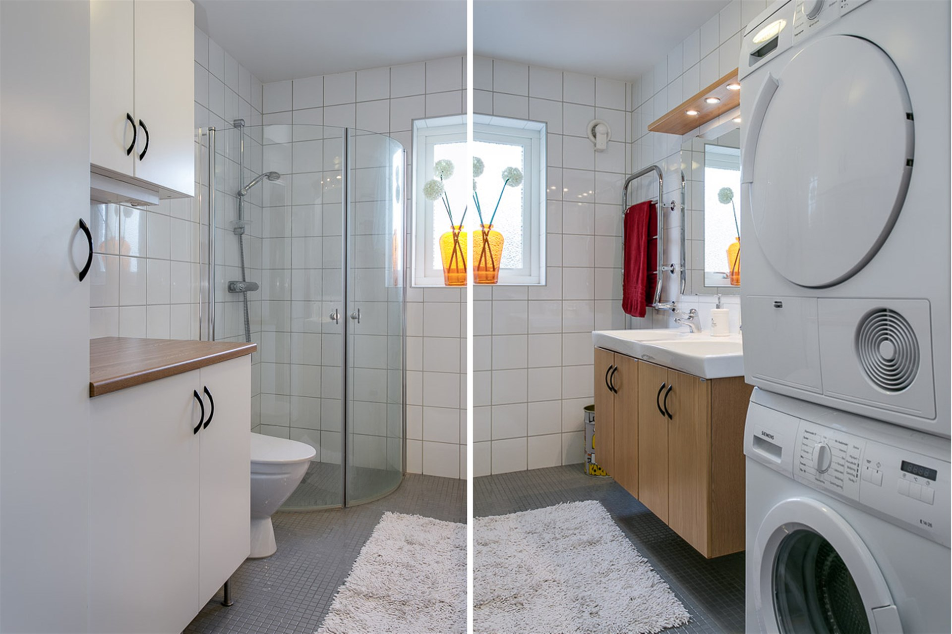 WC/dusch samt klädvård plan 1