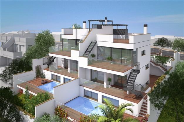 Illustrationsbild - Framsida av hus