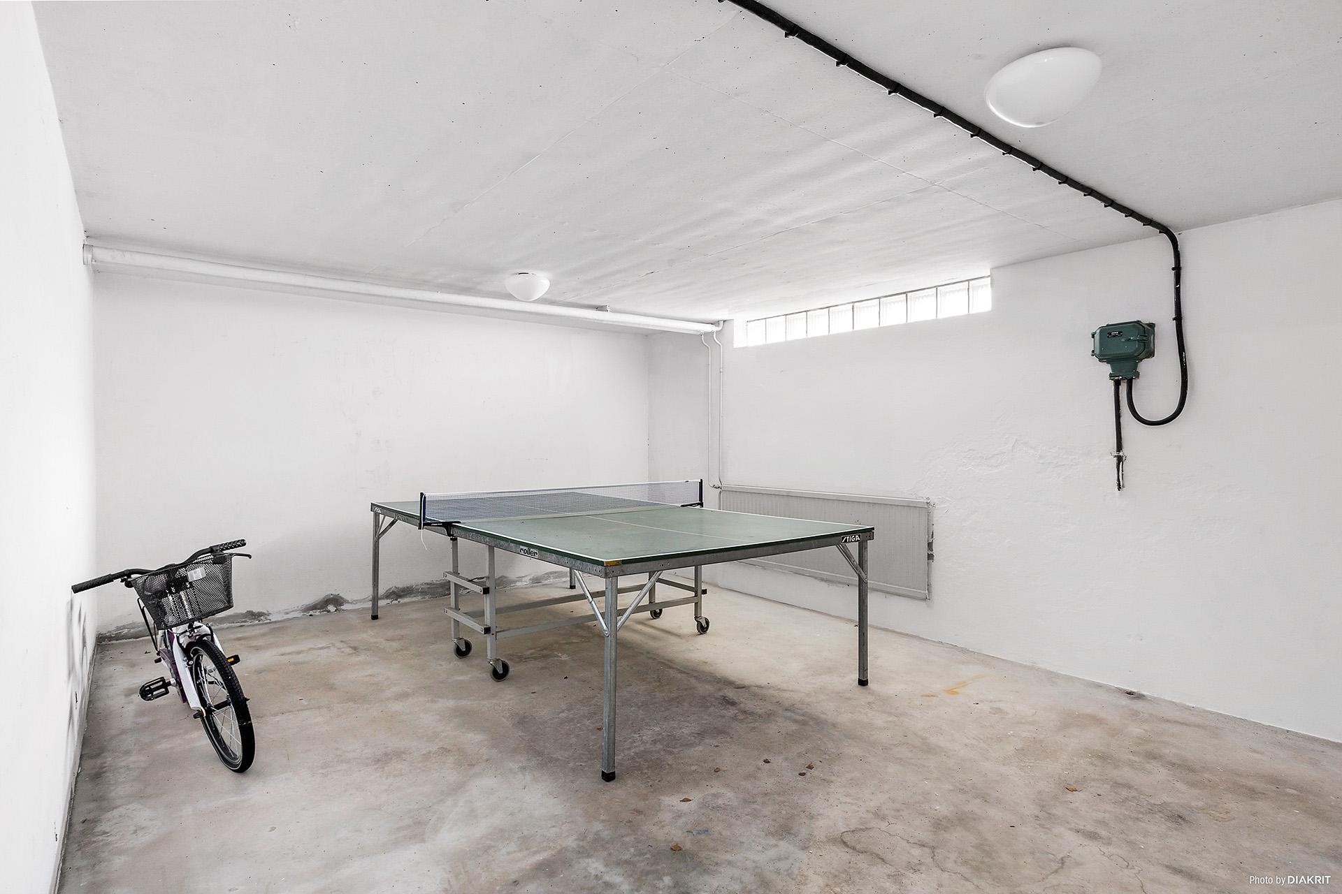 Hobbyrum i källaren