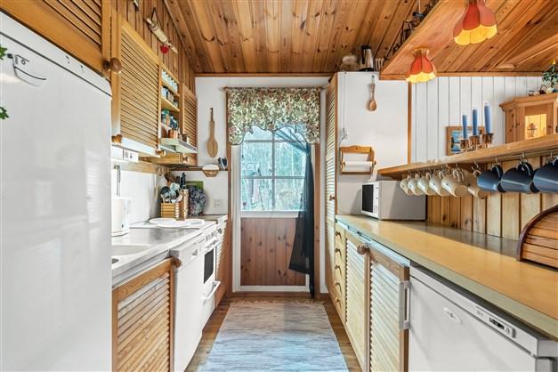 Kök med utgång till altangång