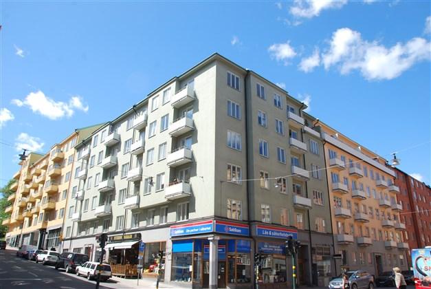Fasad - Frejagatan 16 och Roslagsgatan 27