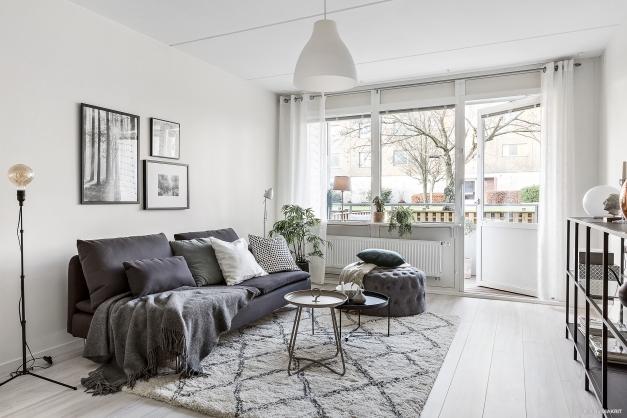 Gott om ljusinsläpp - fönster vägg till vägg