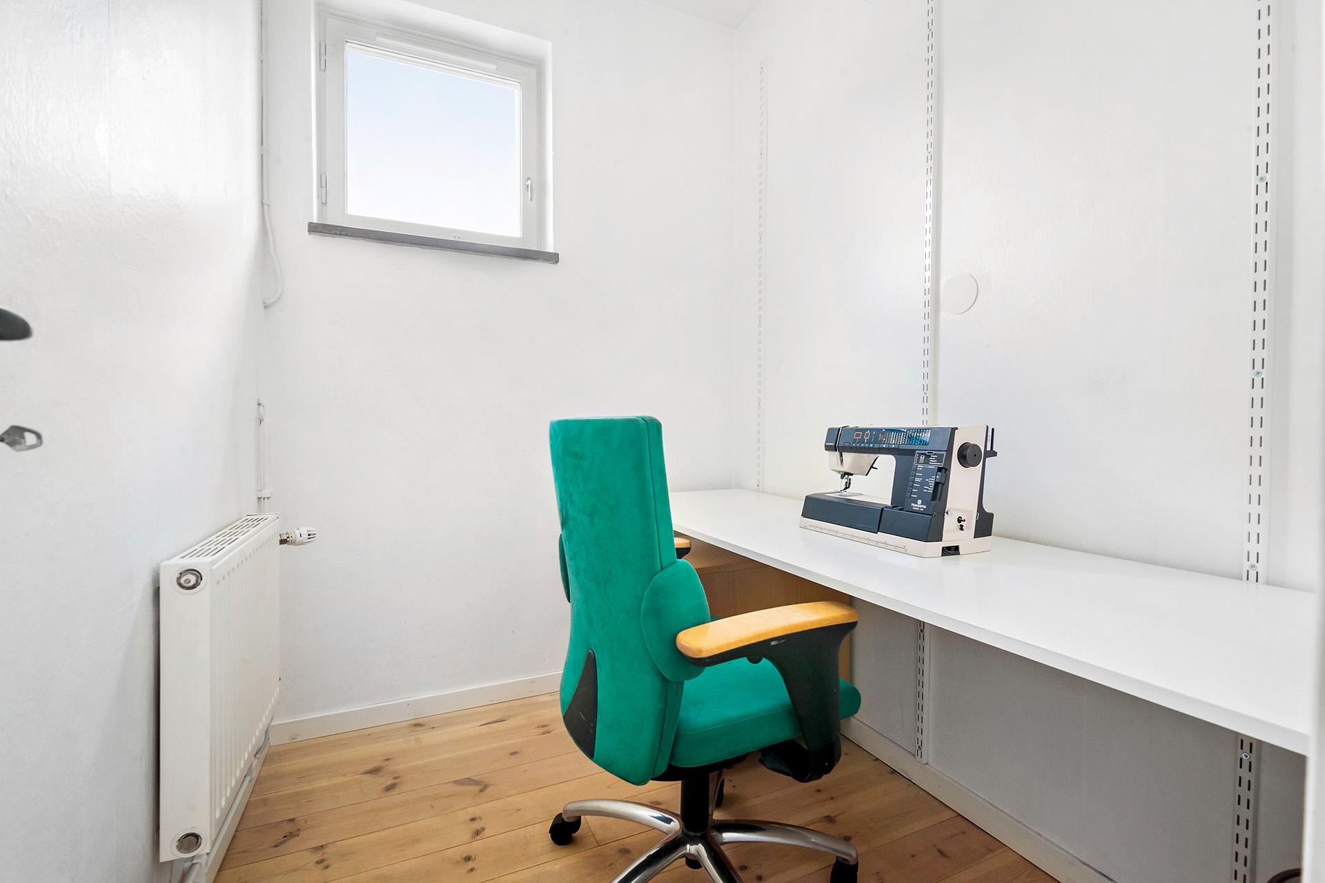 Ytterligare ett sovrum, perfekt som barnrum eller arbetsrum.