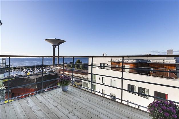 Utsikt från balkong nr 1