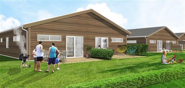 Utformning av utomhusdetaljer såsom tomtyta, trädgård och vissa exteriöra husdetaljer kan variera och vara tillval. Vi hänvisar till byggnadbeskrivning för respektive objekt.