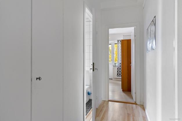 Inre hall mellan sovrummen