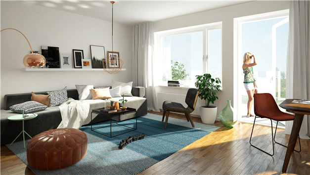 Inspirationsbild från liknande lägenhet