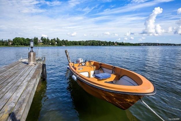 Båt ingår