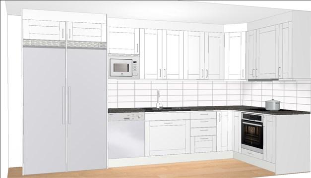 Kök från Vedum. För mer info om köket se längre ner på sidan under Dokument & Länkar.