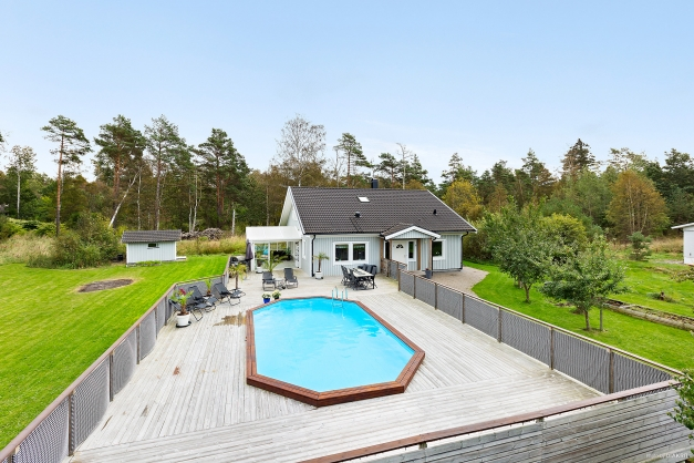 Fantastisk villa byggd 2007 - belägen på lugn återvändsgata.