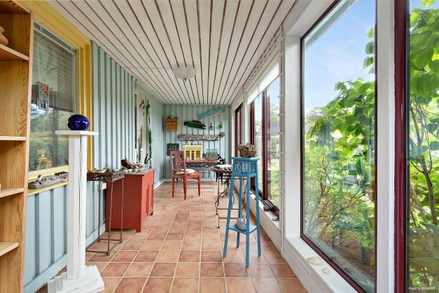 Inglasad veranda